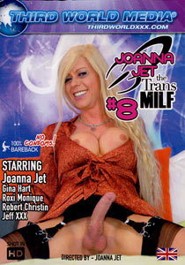Joanna Jet The Trans Milf 008 Front Dvd Front Cover